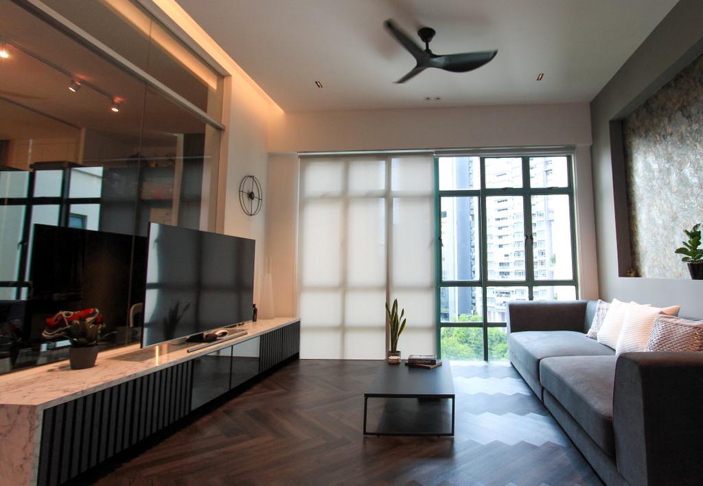 Contemporary, Condo, Living Room, Tanglin Regency, Interior Designer, Design Story