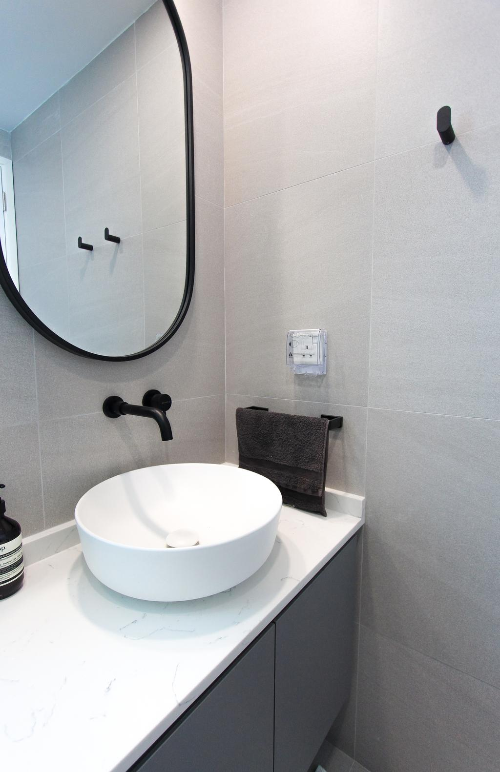 Scandinavian, Condo, Bathroom, The Metropolitan, Interior Designer, Design Story