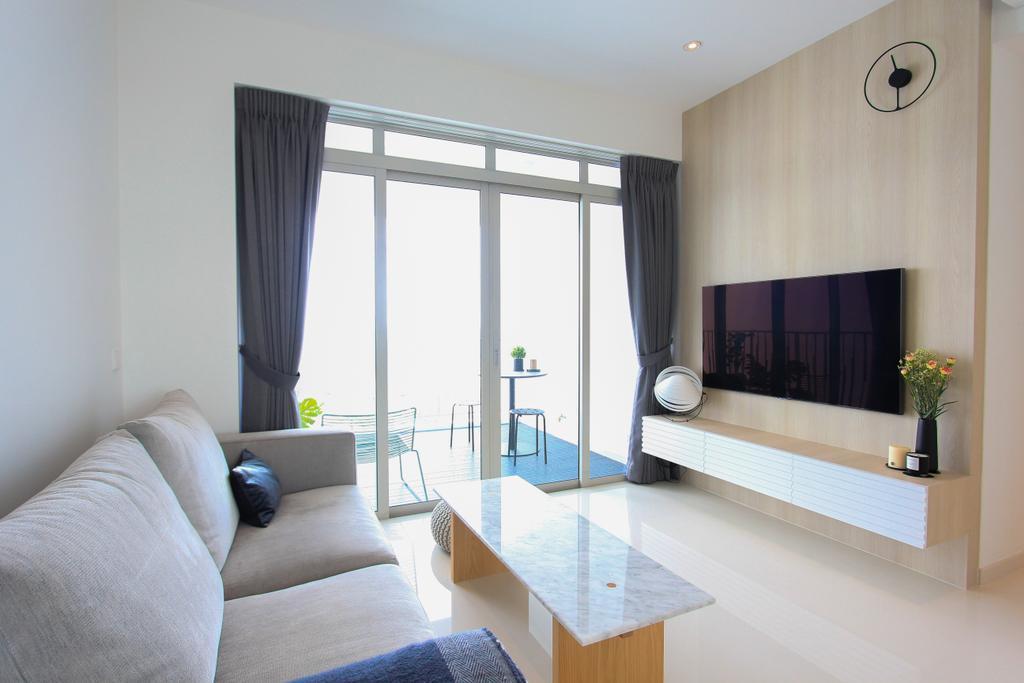 Scandinavian, Condo, Living Room, The Metropolitan, Interior Designer, Design Story