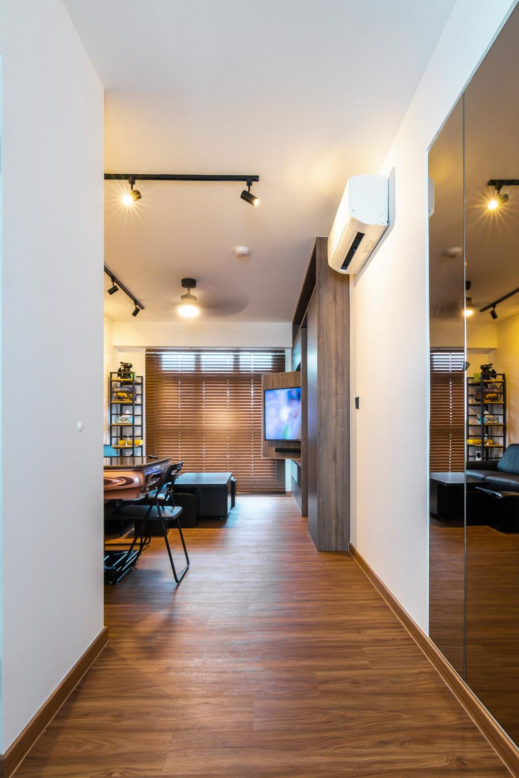 Modern, HDB, Northshore Drive, Interior Designer, 9 Creation, Contemporary