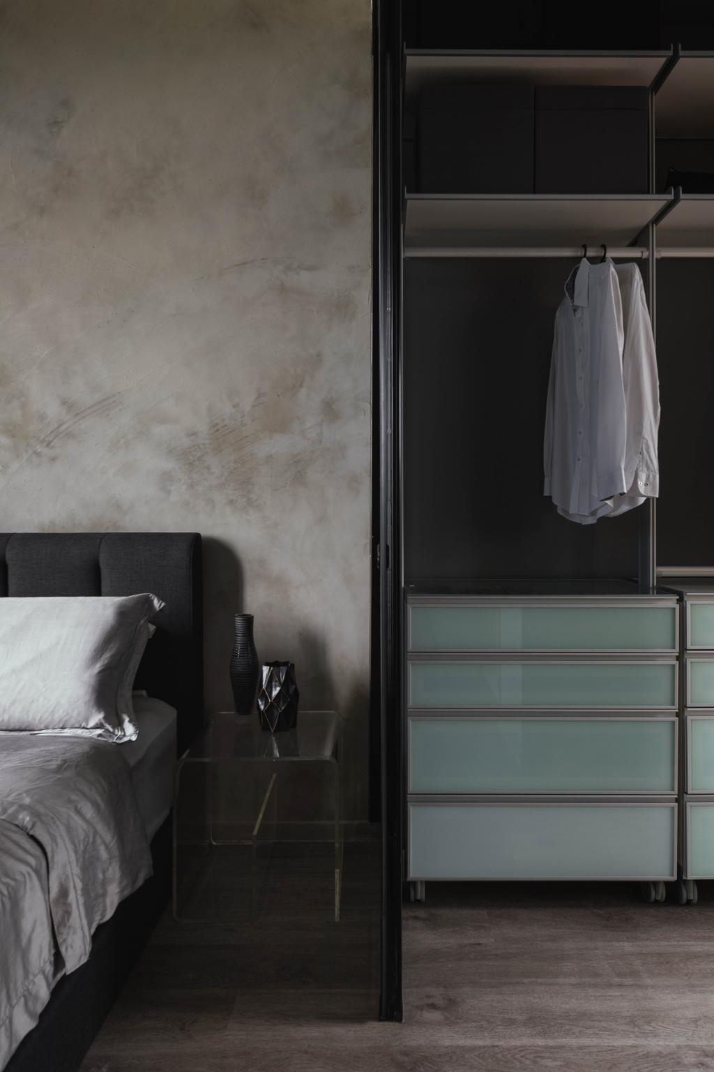 Industrial, Condo, Bedroom, The Greenwich, Interior Designer, Image Creative Design