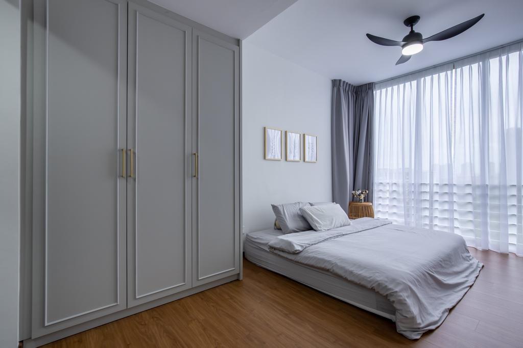 Contemporary, Condo, Bedroom, Grandeur 8, Interior Designer, Colourbox Interior