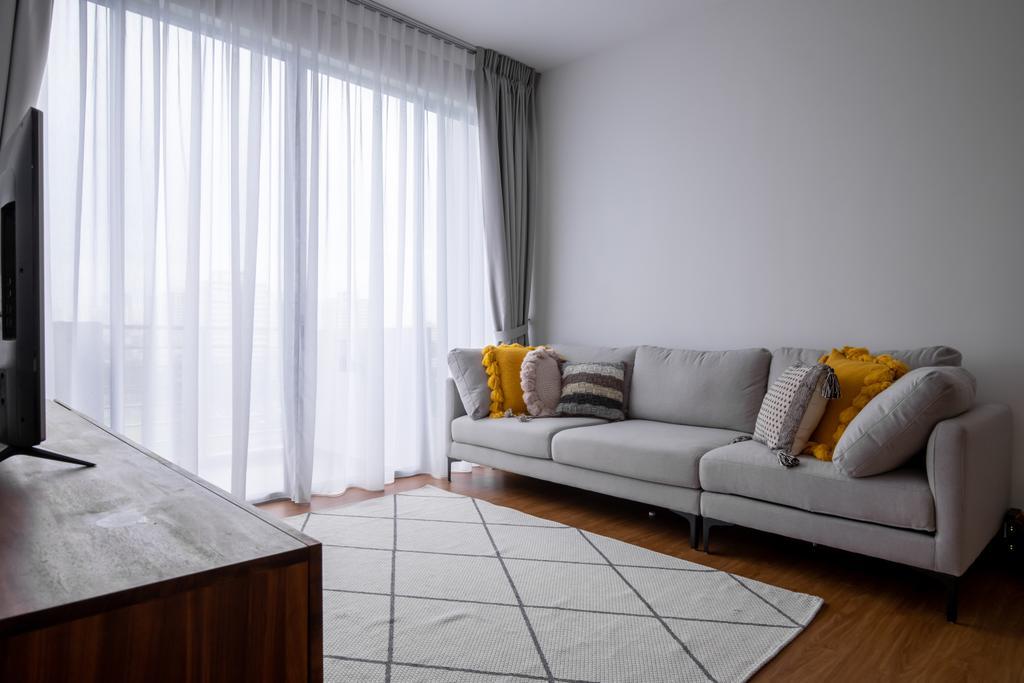 Contemporary, Condo, Living Room, Grandeur 8, Interior Designer, Colourbox Interior