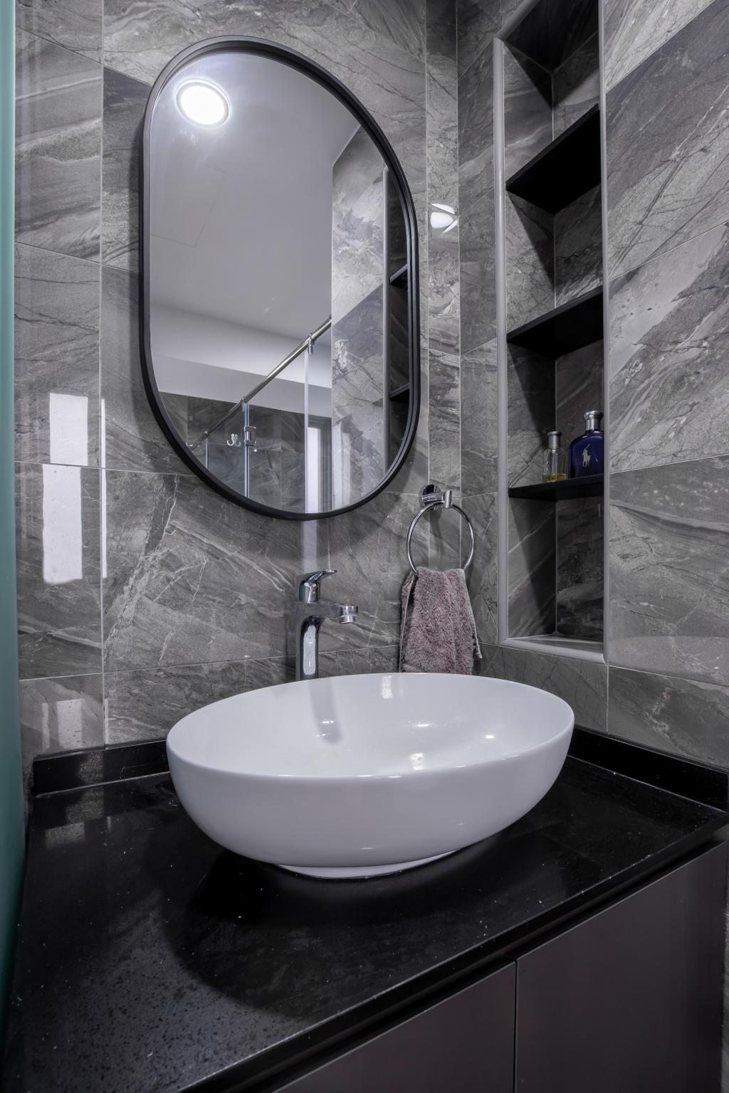 Contemporary, Condo, Bathroom, Grandeur 8, Interior Designer, Colourbox Interior