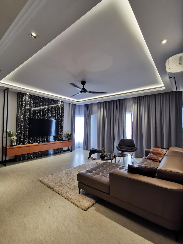 Contemporary, Condo, Tembeling Resort, Kuantan, Interior Designer, Klaasmen Sdn. Bhd.