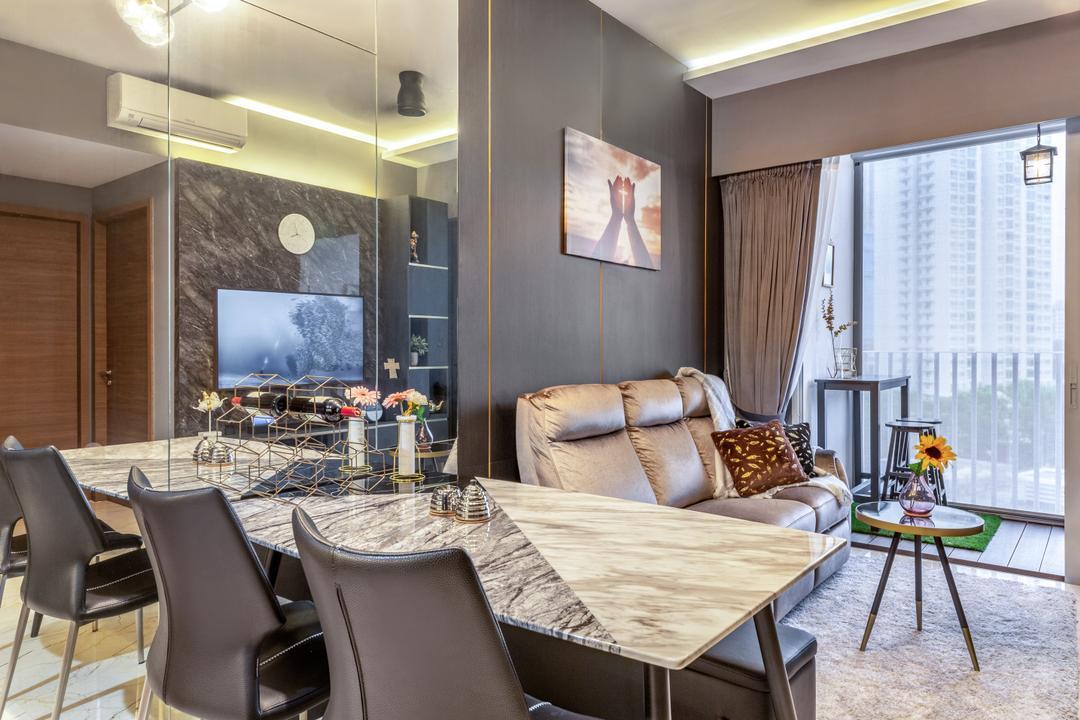 Queens Peak Living Room Interior Design 4