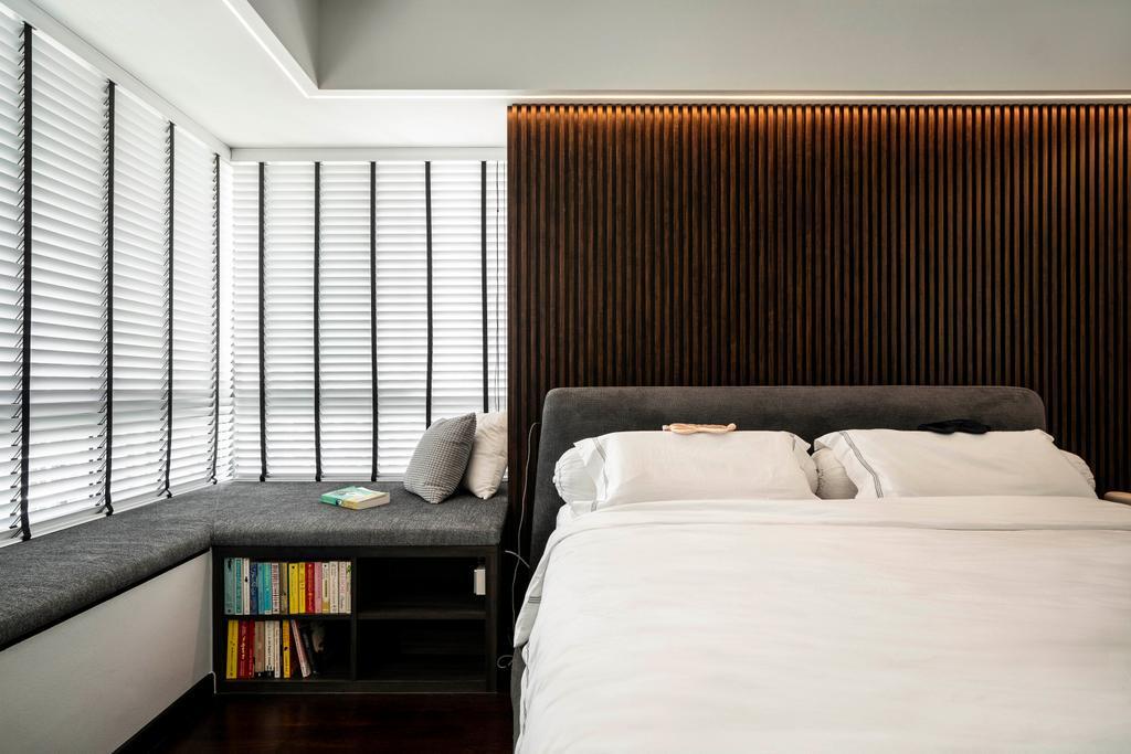 Contemporary, HDB, Bedroom, Clementi Avenue 1, Interior Designer, Livspace, Scandinavian
