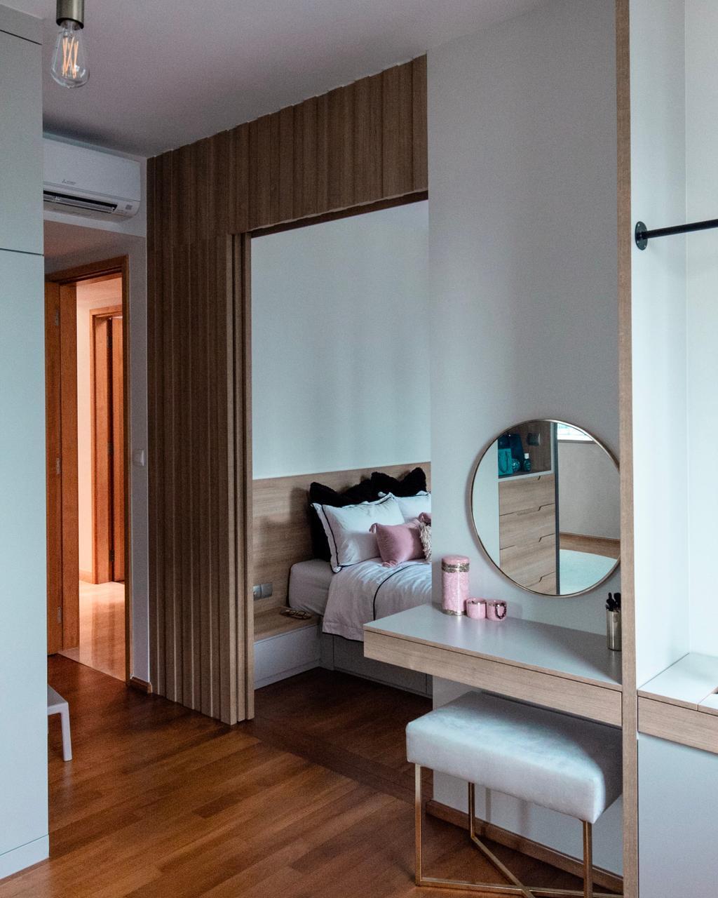 Contemporary, Condo, Bedroom, Newton, Interior Designer, Spire Id