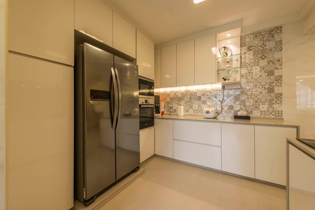 Modern, HDB, Kitchen, Yung Ping Road, Interior Designer, U-Home Interior Design