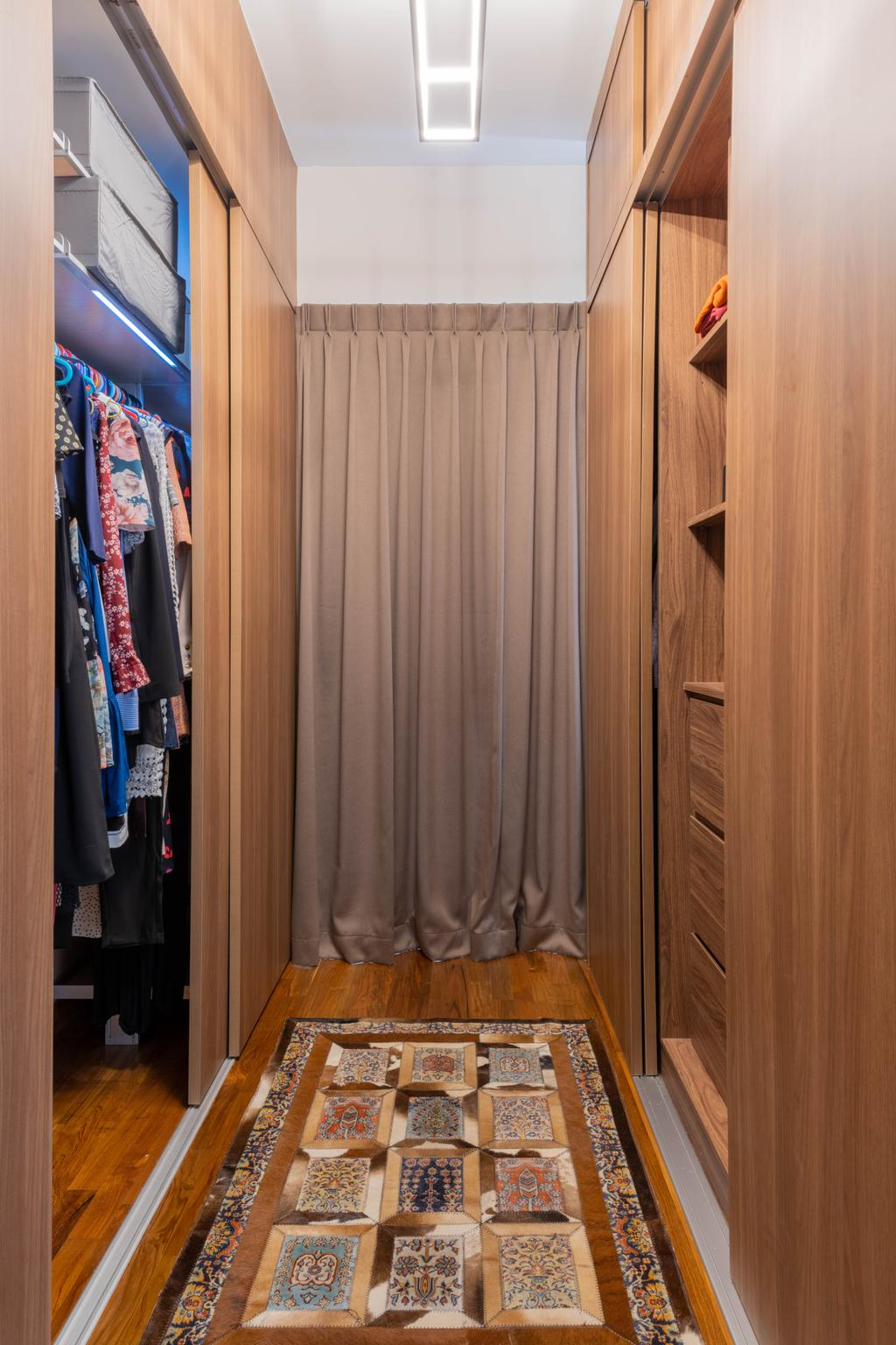 Contemporary, Landed, Bedroom, Luxus Hill, Interior Designer, D'Brain Studio