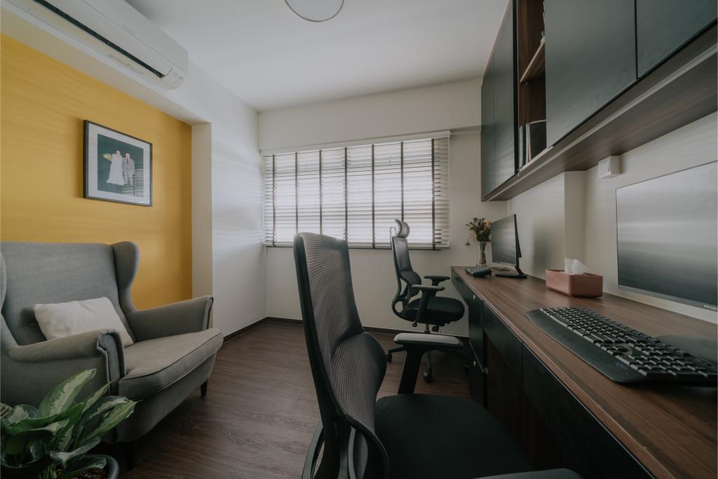 Contemporary, HDB, Study, Strathmore Avenue, Interior Designer, Key Concept