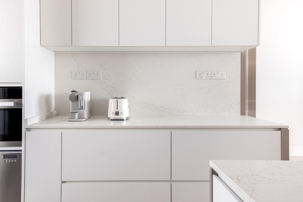 Modern, Condo, Kitchen, Sunhaven, Interior Designer, Anhans Interior Design