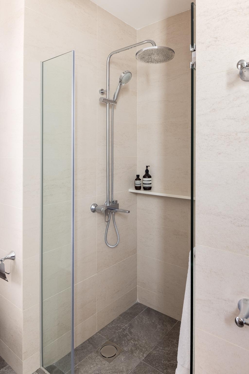 Modern, Condo, Bathroom, Sunhaven, Interior Designer, Anhans Interior Design