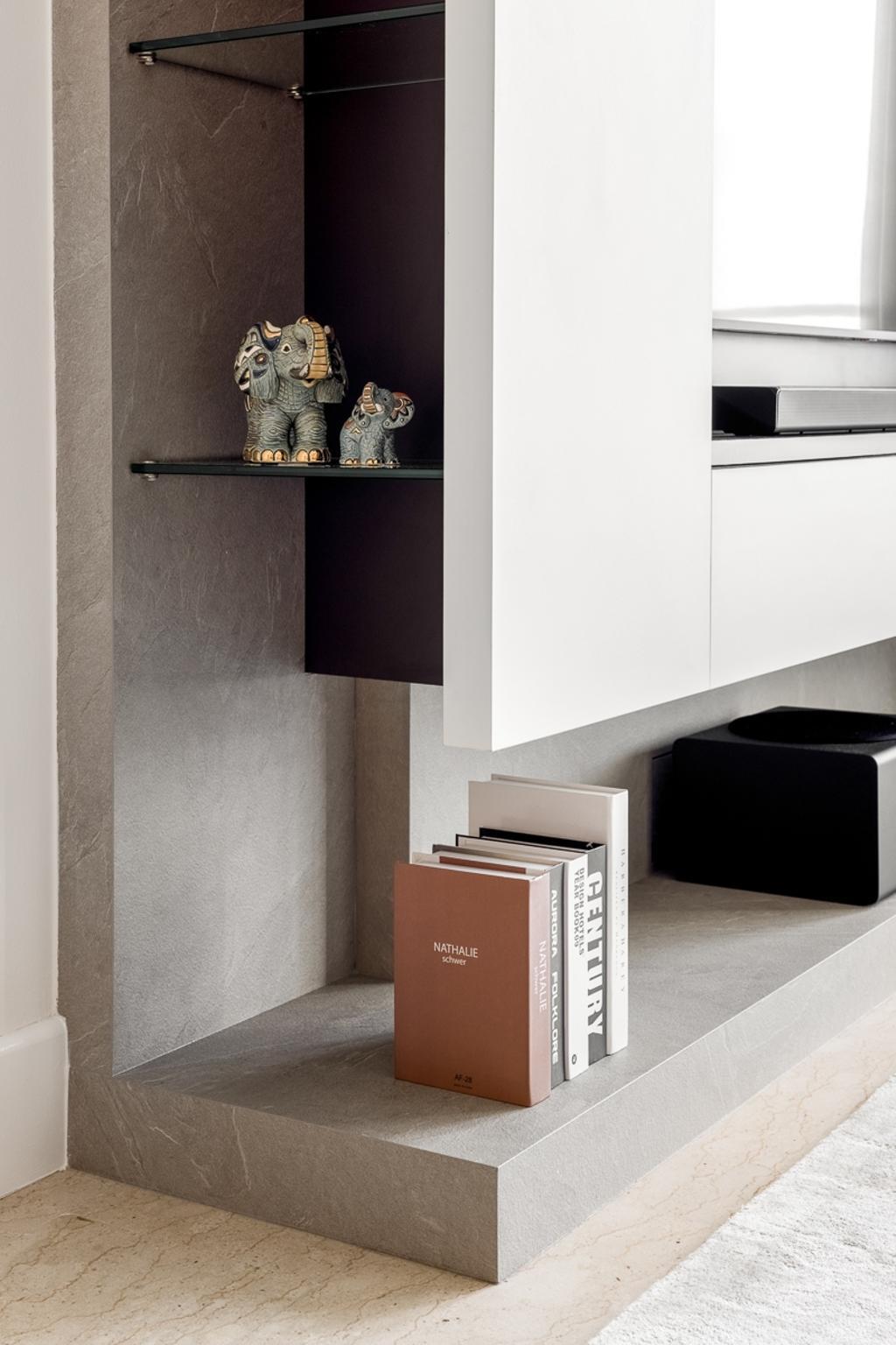 Modern, Condo, Living Room, Sunhaven, Interior Designer, Anhans Interior Design