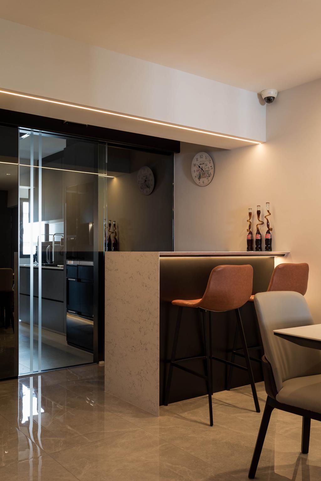Contemporary, HDB, Living Room, Ang Mo Kio Avenue 1, Interior Designer, The Design Practice