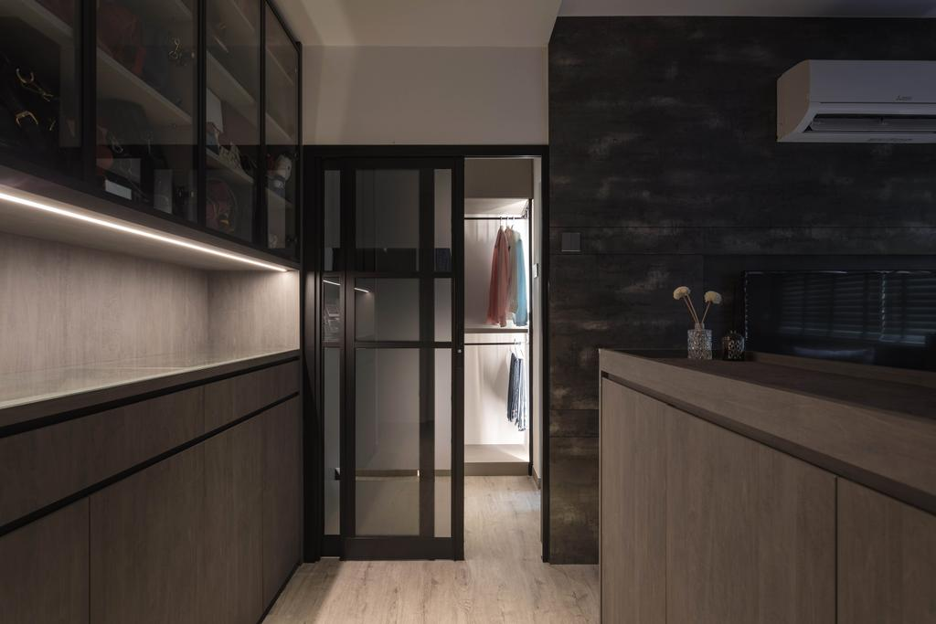 Contemporary, HDB, Kitchen, Ang Mo Kio Avenue 1, Interior Designer, The Design Practice
