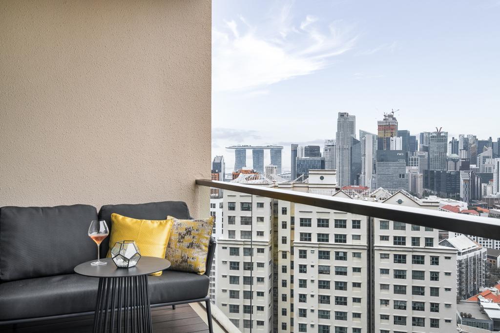 Modern, Condo, Balcony, Martin Place Residences, Interior Designer, Mr Shopper Studio