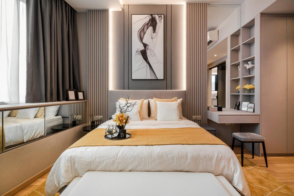 Modern, Condo, Bedroom, Martin Place Residences, Interior Designer, Mr Shopper Studio