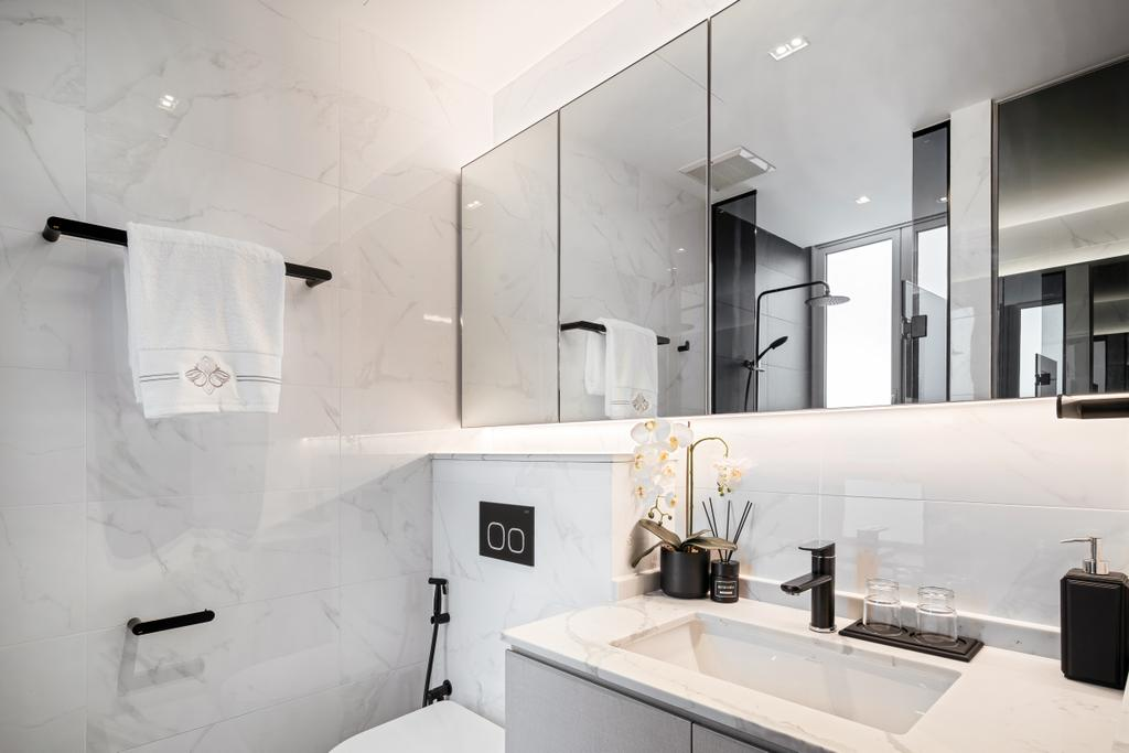 Modern, Condo, Bathroom, Martin Place Residences, Interior Designer, Mr Shopper Studio