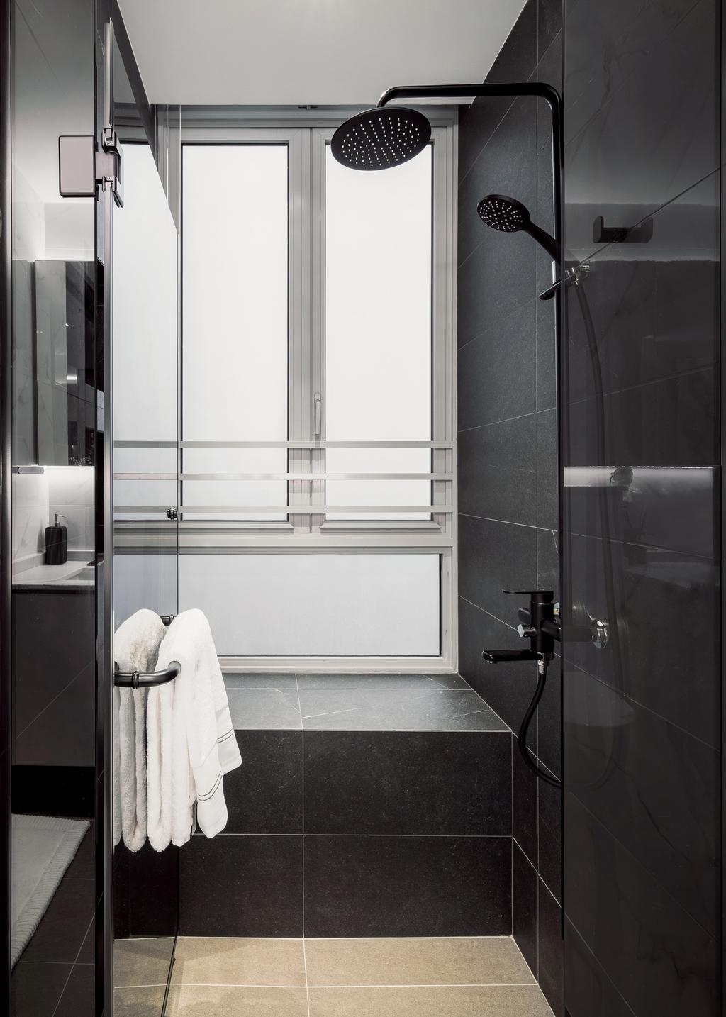 Modern, Condo, Bathroom, Martin Place Residences, Interior Designer, Mr Shopper Studio