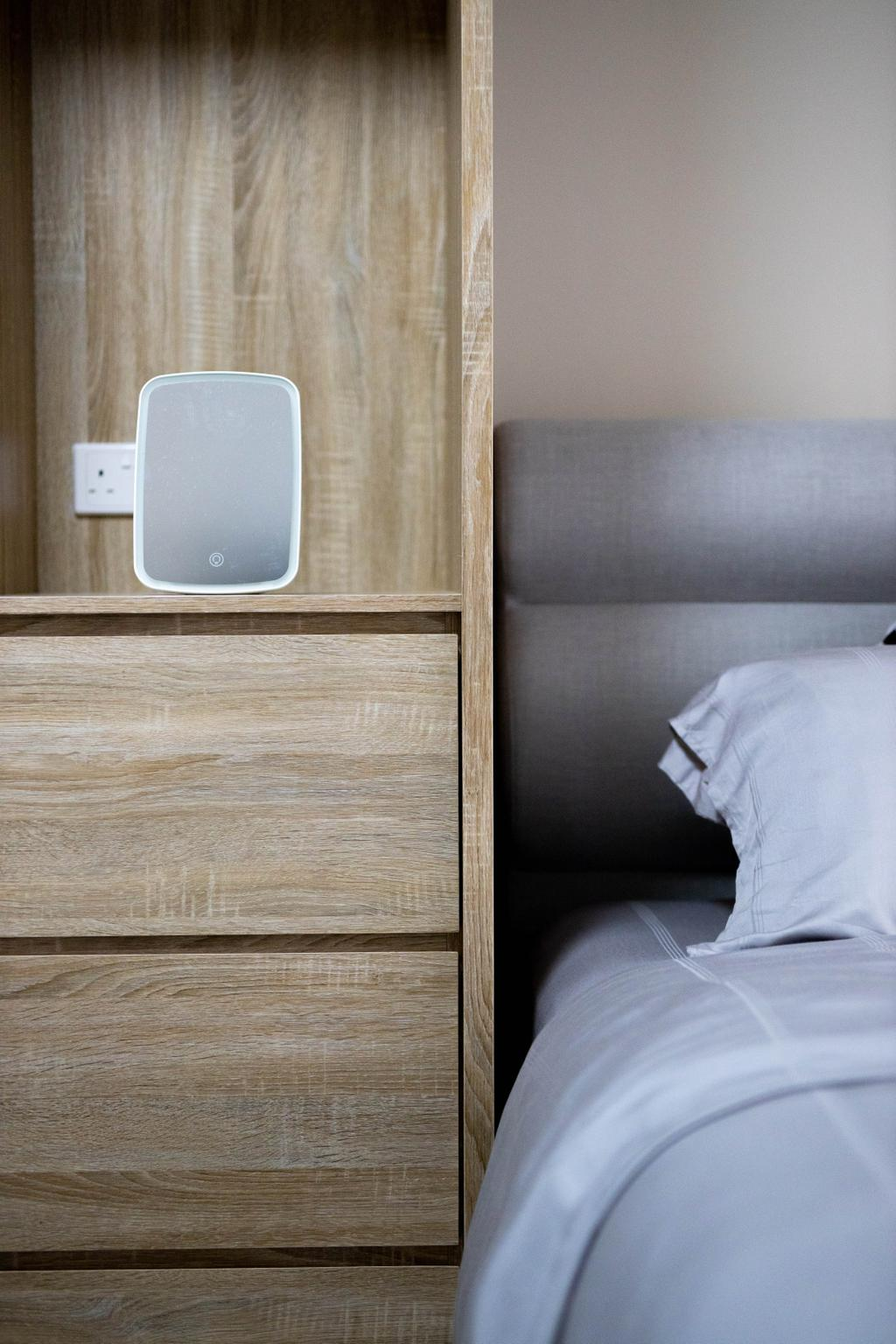 Modern, HDB, Bedroom, Buangkok Link, Interior Designer, Forefront Interior