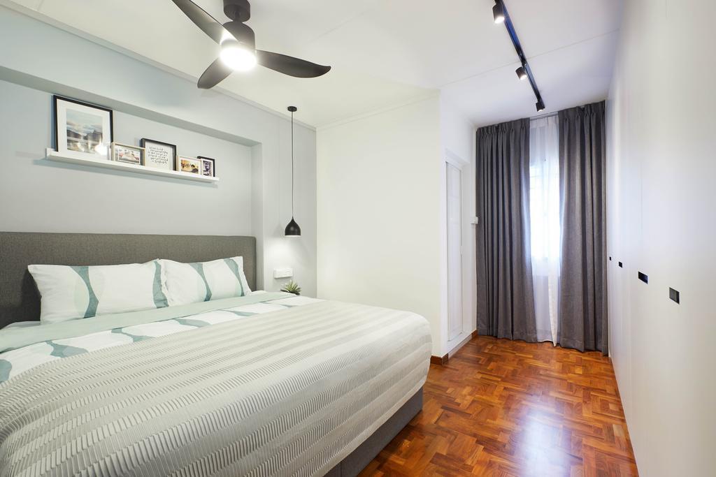 Modern, HDB, Bedroom, Jalan Tenaga, Interior Designer, Jubilee Interior, Scandinavian