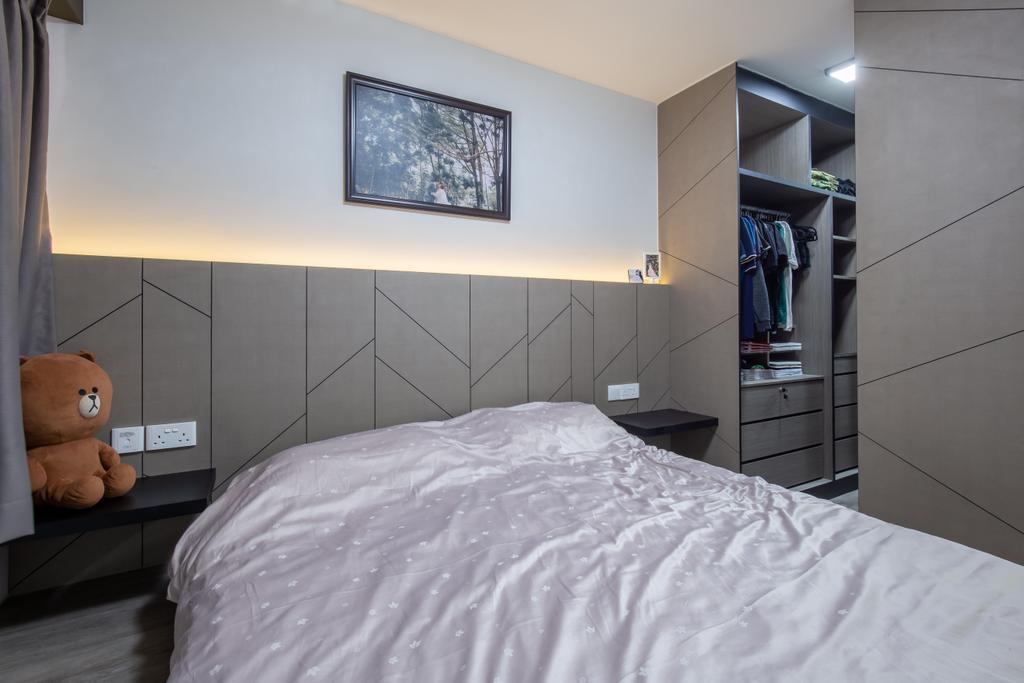 Modern, HDB, Bedroom, Sengkang West Road, Interior Designer, Ace's Design