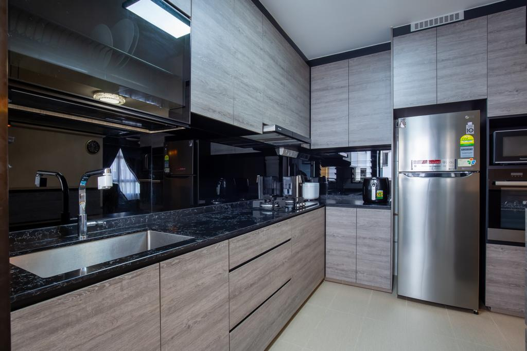 Modern, HDB, Kitchen, Sengkang West Road, Interior Designer, Ace's Design