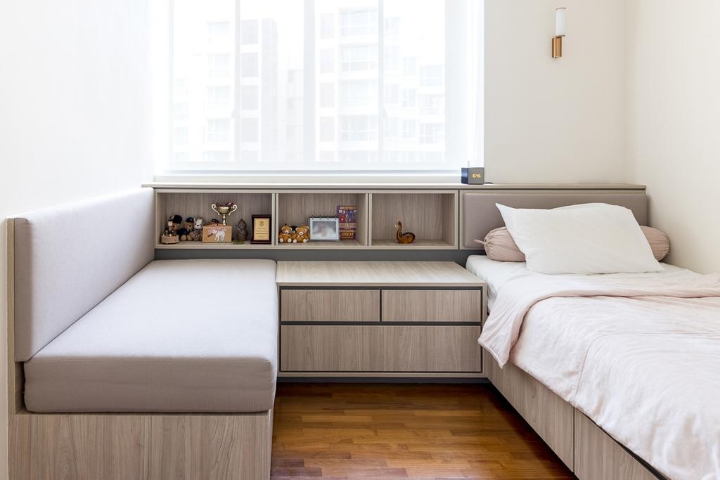 Modern, Condo, Bedroom, Sunhaven, Interior Designer, Anhans Interior Design