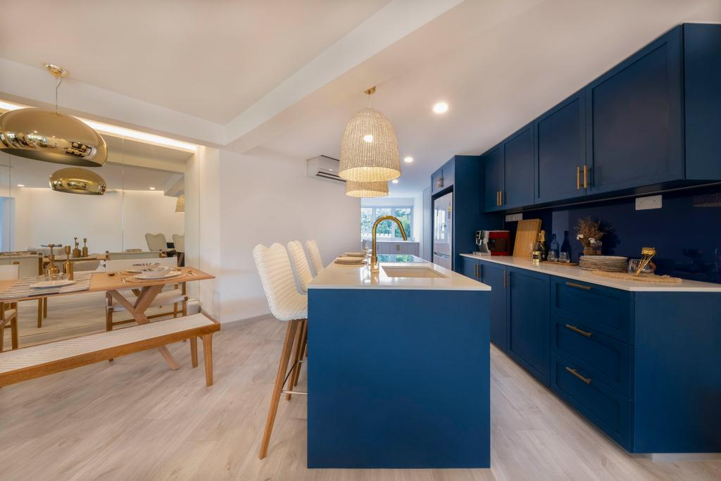 Scandinavian, HDB, Kitchen, Potong Pasir, Interior Designer, Starry Homestead
