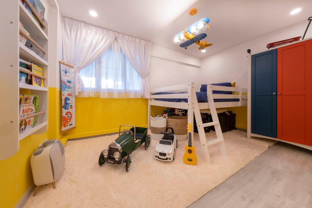Scandinavian, HDB, Bedroom, Potong Pasir, Interior Designer, Starry Homestead