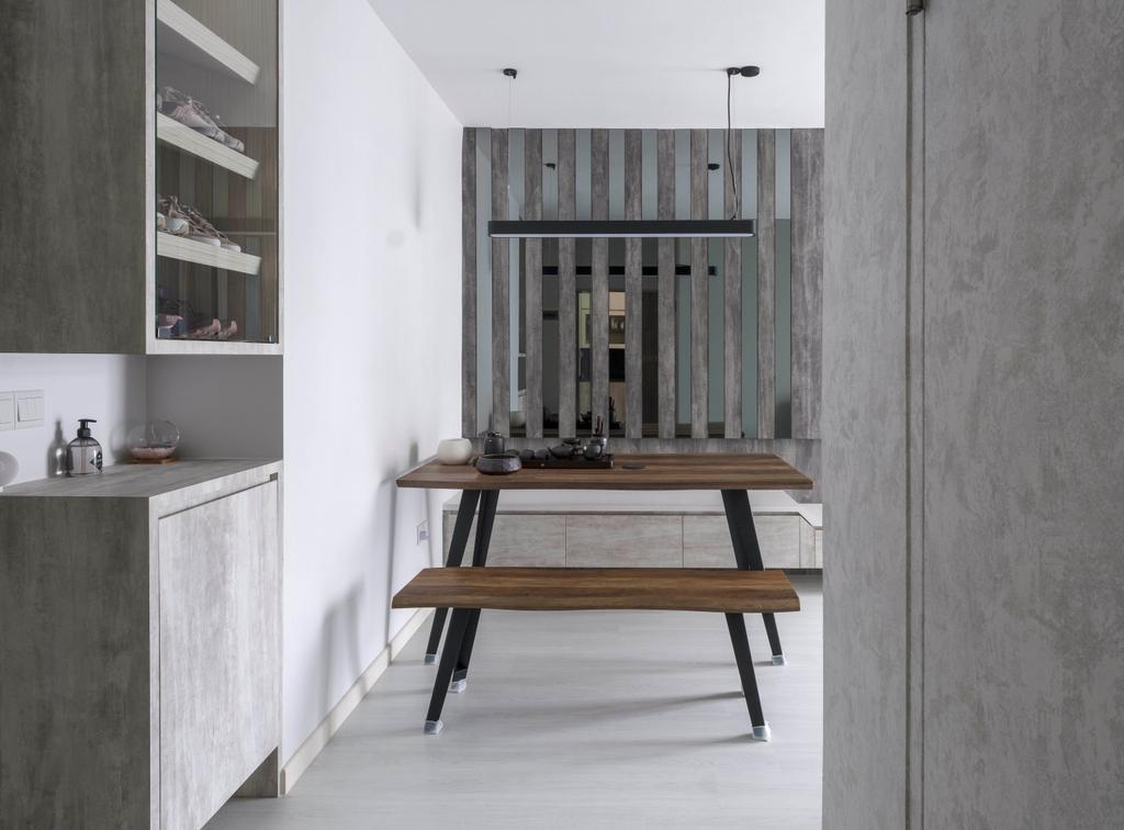 Minimalistic, HDB, Dining Room, Jalan Membina, Interior Designer, Starry Homestead, Industrial
