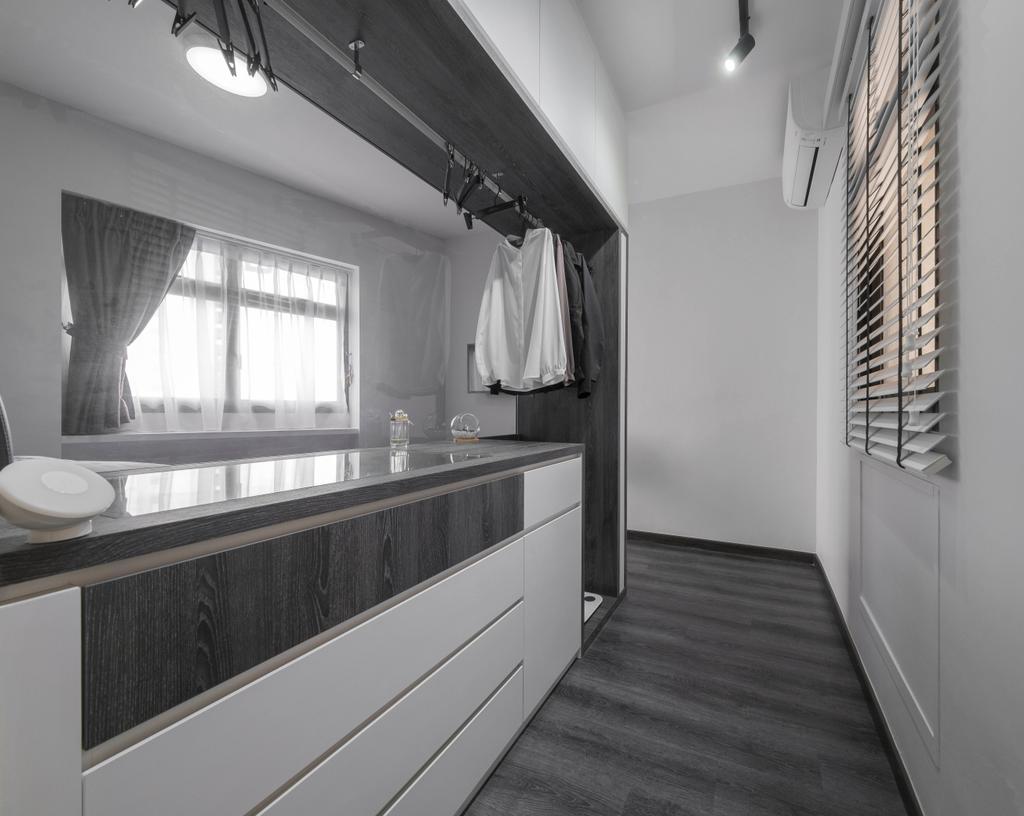 Minimalistic, HDB, Bedroom, Jalan Membina, Interior Designer, Starry Homestead, Industrial