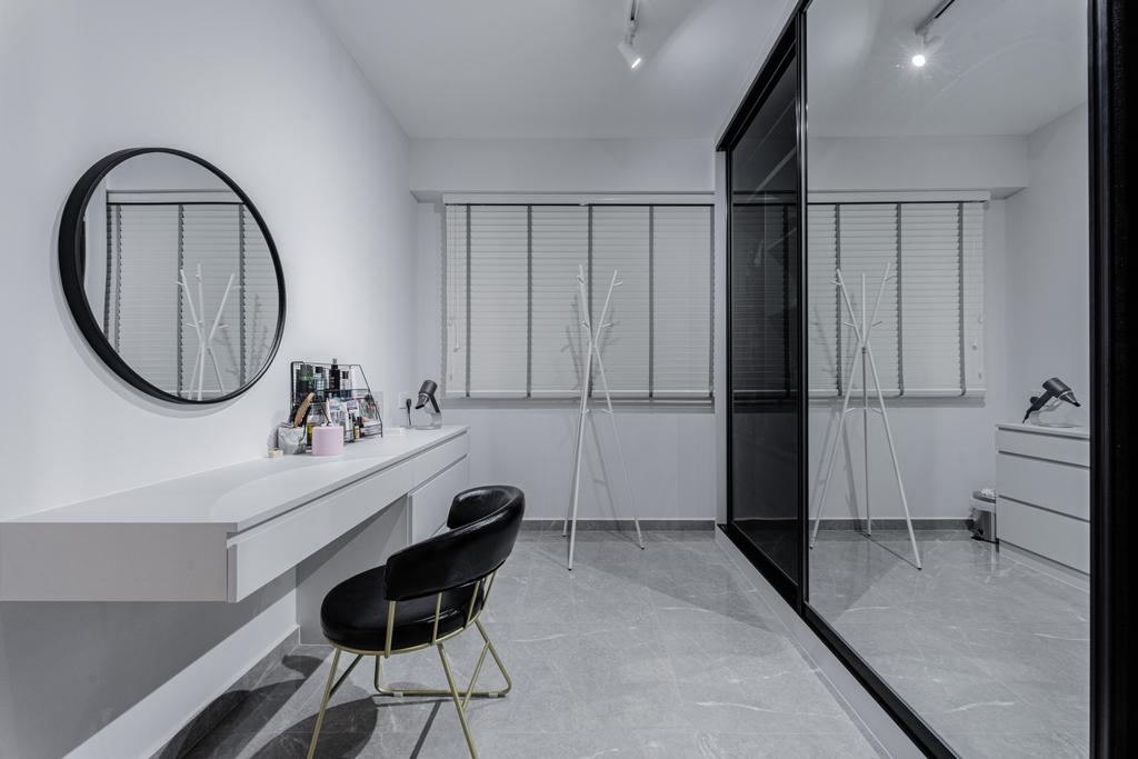 Contemporary, HDB, Anchorvale Lane, Interior Designer, Luova Project Services