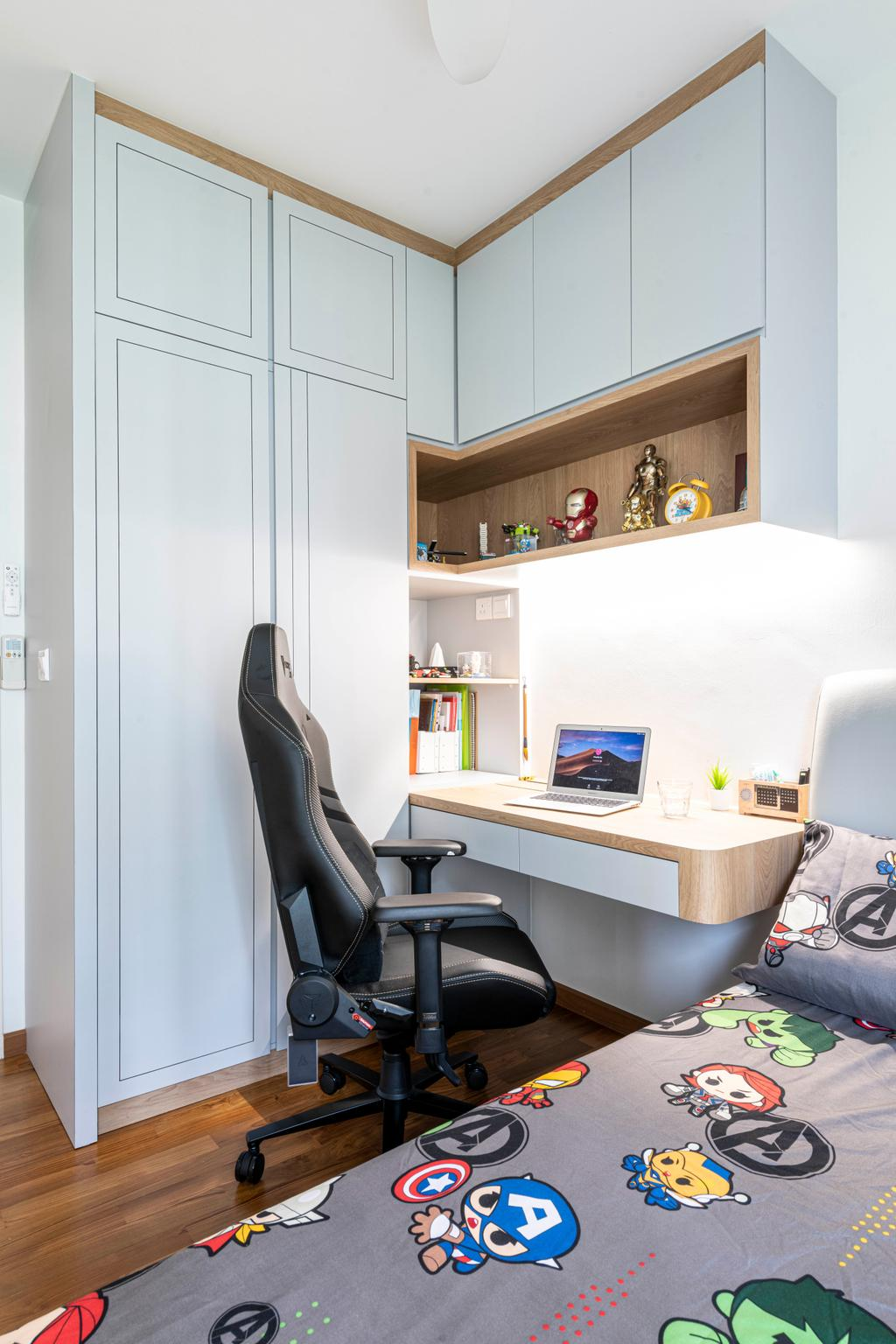 Modern, HDB, Study, Skyterrace @ Dawson, Interior Designer, Meter Square, Contemporary