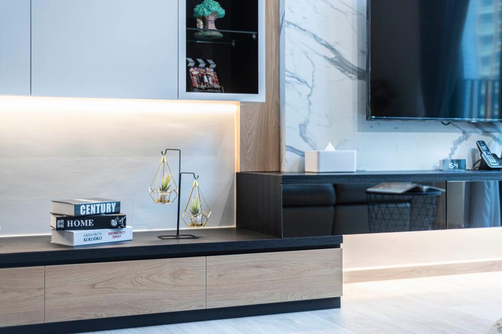 Modern, HDB, Living Room, Skyterrace @ Dawson, Interior Designer, Meter Square, Contemporary