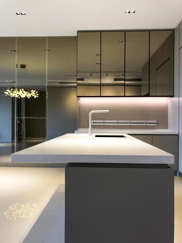 Modern, Condo, Kitchen, Pavillion Hilltop, Mont Kiara, Interior Designer, MIL Design & Construction