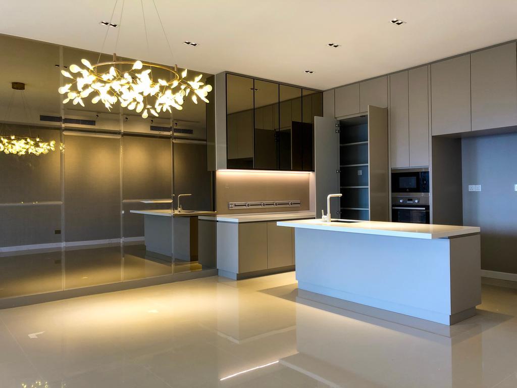 Modern, Condo, Dining Room, Pavillion Hilltop, Mont Kiara, Interior Designer, MIL Design & Construction