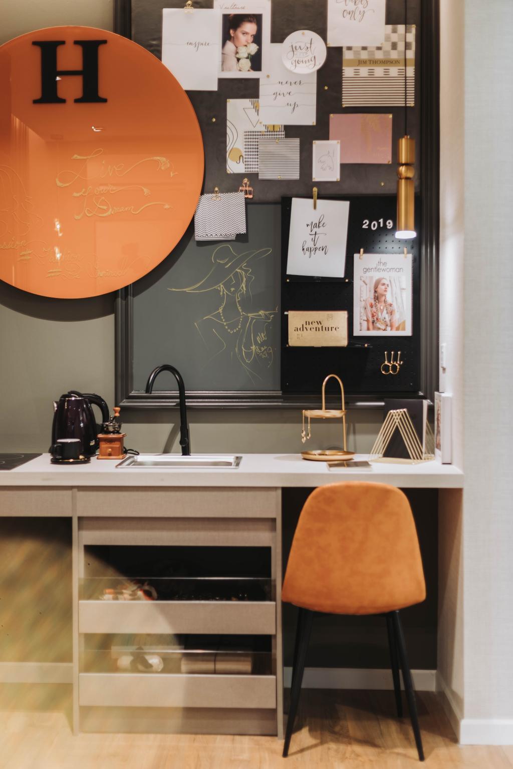 Contemporary, Condo, Study, Velocity Residence, Kuala Lumpur, Interior Designer, MIL Design & Construction