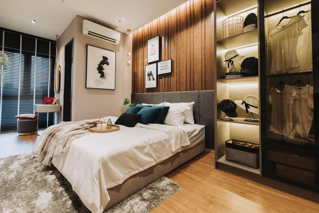 Contemporary, Condo, Bedroom, Velocity Residence, Kuala Lumpur, Interior Designer, MIL Design & Construction