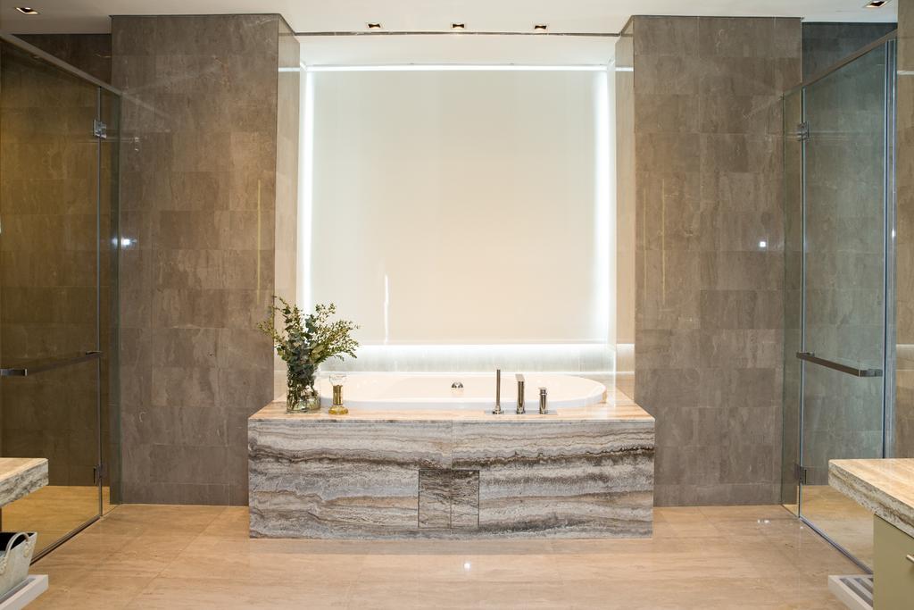 Contemporary, Condo, Bathroom, SERAI, Bukit Bandaraya, Interior Designer, MIL Design & Construction
