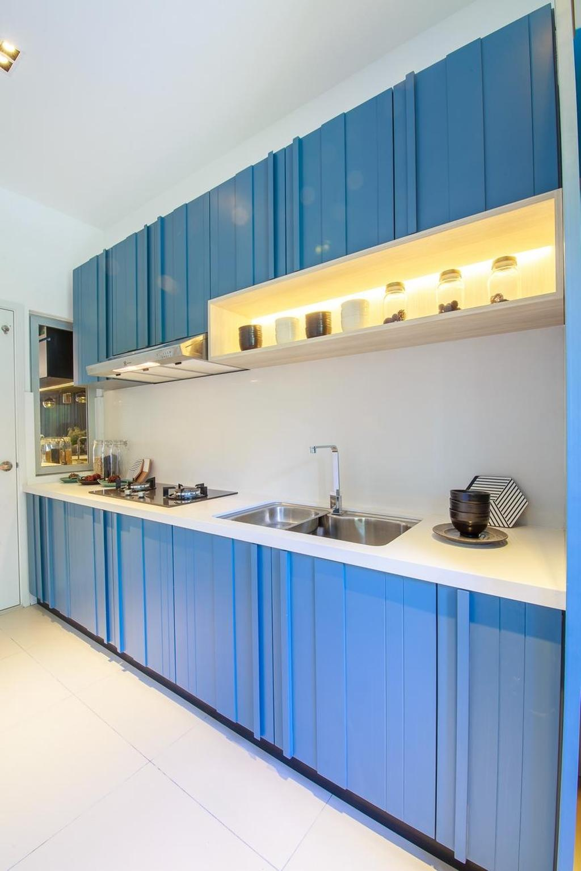 Contemporary, Landed, Kitchen, Hanna Home, Jadehills Kajang, Interior Designer, MIL Design & Construction