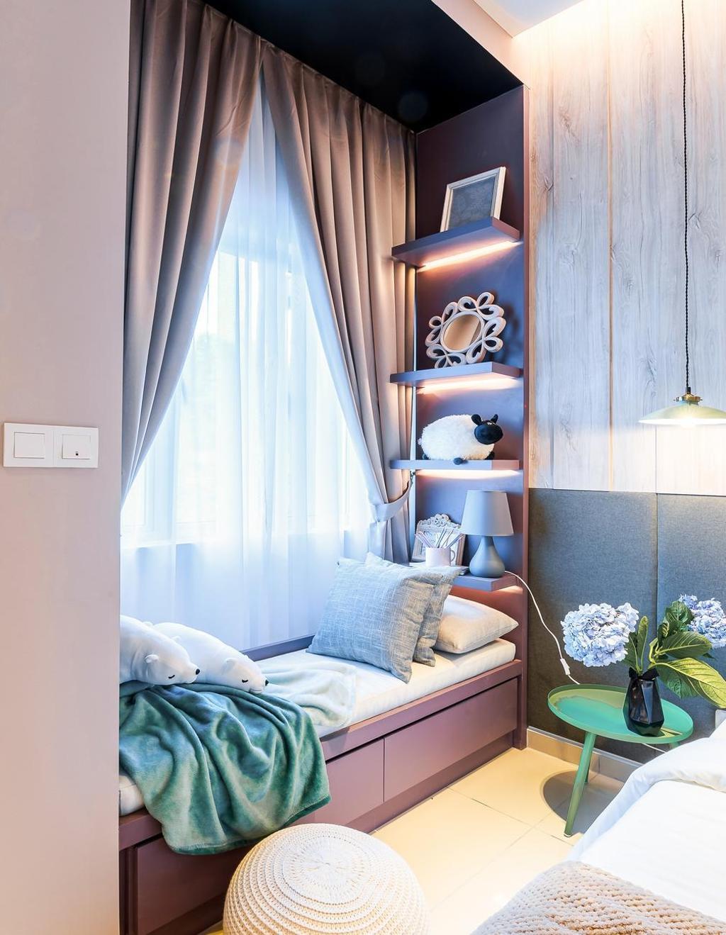 Contemporary, Landed, Bedroom, Hanna Home, Jadehills Kajang, Interior Designer, MIL Design & Construction