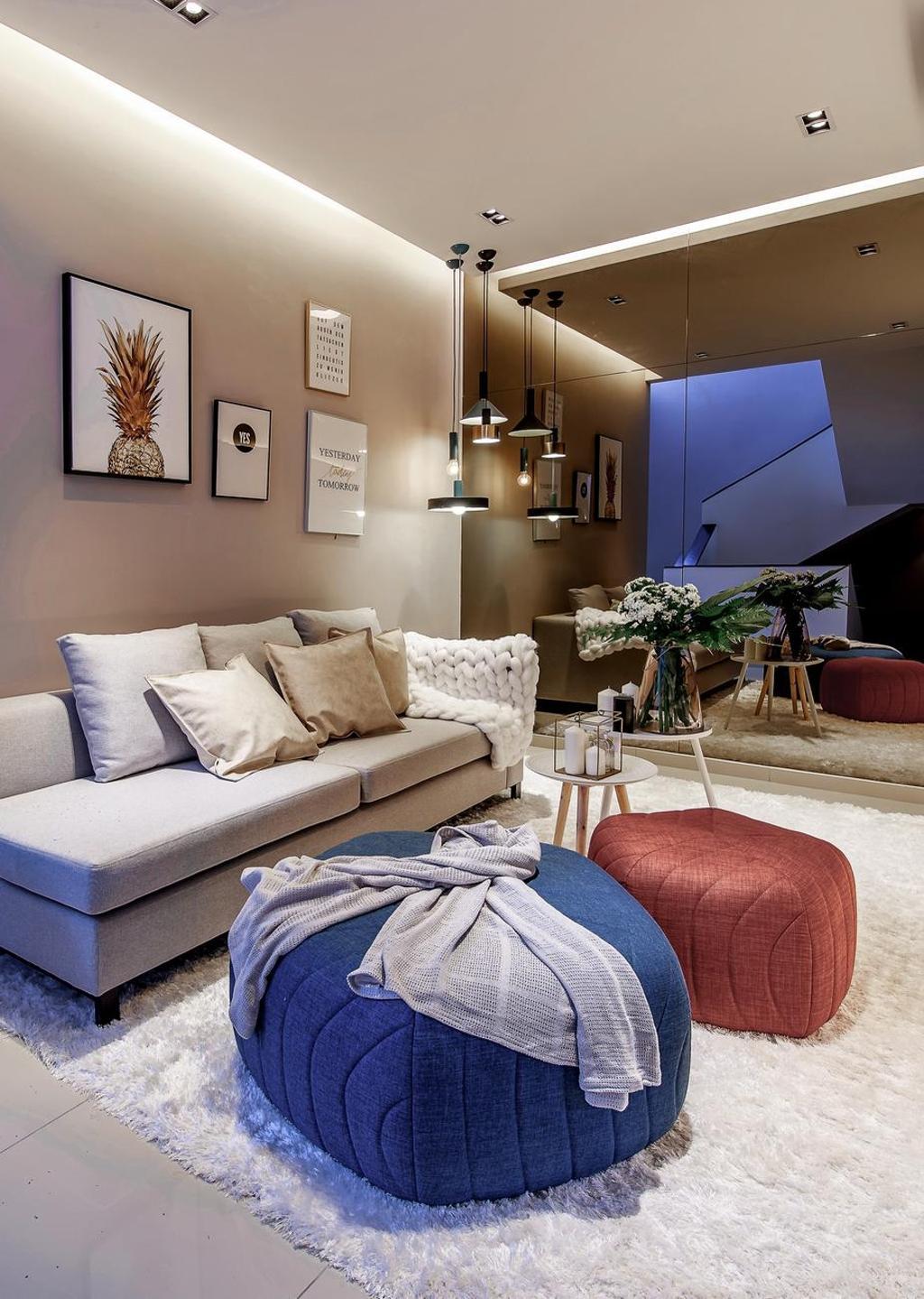 Contemporary, Landed, Hanna Home, Jadehills Kajang, Interior Designer, MIL Design & Construction