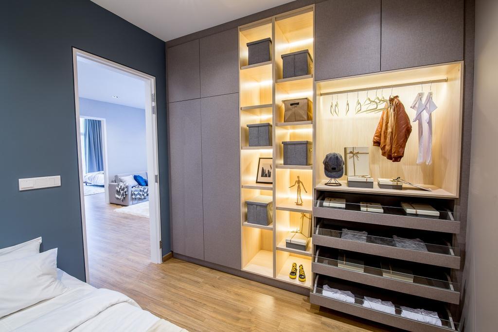 Modern, Landed, Bedroom, Domus Semi-D, Twentyfive.7 Kota Kemuning, Interior Designer, MIL Design & Construction