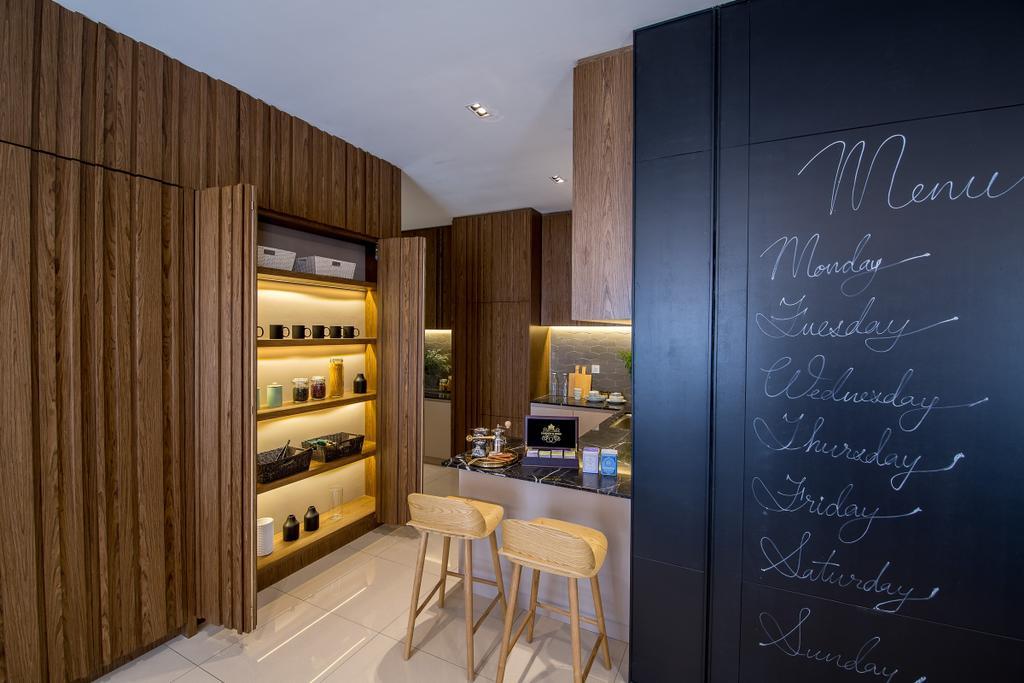 Modern, Landed, Kitchen, Domus Semi-D, Twentyfive.7 Kota Kemuning, Interior Designer, MIL Design & Construction