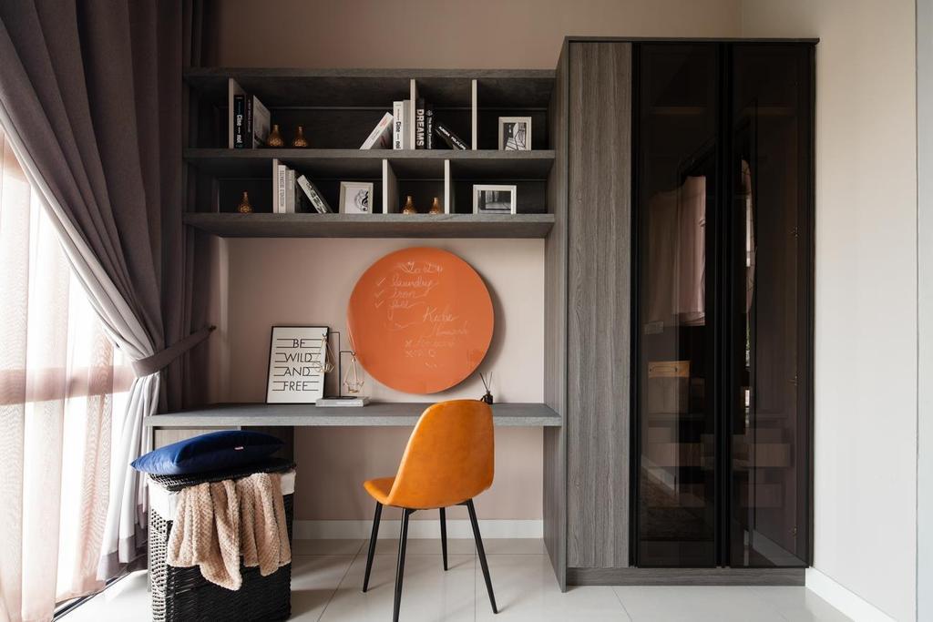 Contemporary, Landed, Study, Blossom Jade Hills, Kajang, Interior Designer, MIL Design & Construction, Modern