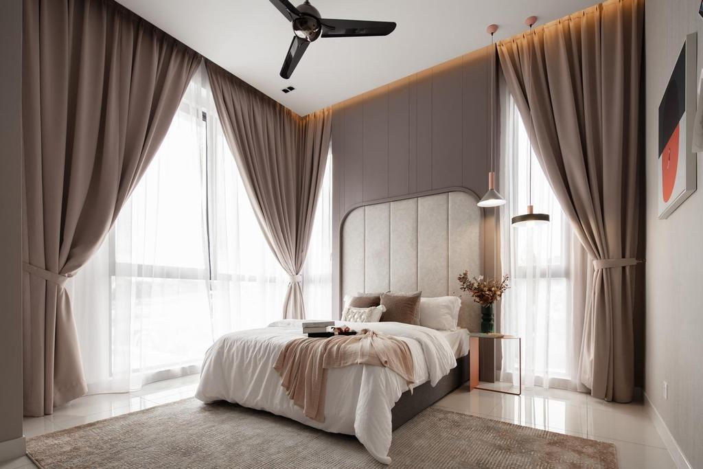 Contemporary, Landed, Bedroom, Blossom Jade Hills, Kajang, Interior Designer, MIL Design & Construction, Modern