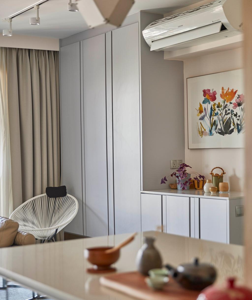 Modern, HDB, Living Room, Pinnacle @ Duxton, Interior Designer, The Interior Lab, Contemporary