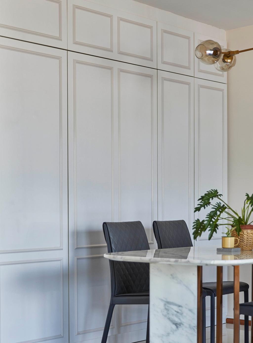 Modern, HDB, Dining Room, Pinnacle @ Duxton, Interior Designer, The Interior Lab, Contemporary